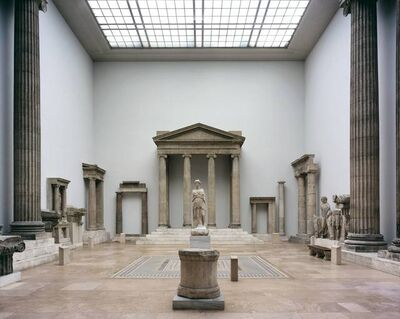 Reinhard Gorner, 'Greek Temple, Pergamon Museum, Berlin', 2006