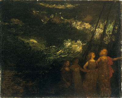 Arthur Bowen Davies, 'The Voyage', Date unknown