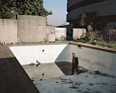Mikhael Subotzky, 'Hallelujah's first job when he moved to Ponte in 1981 was to clean the swimming pool', 2008