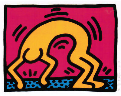 Keith Haring, 'Pop Shop II (B)', 1988