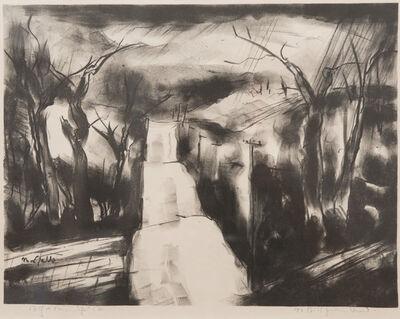 B. J. O. Nordfeldt, 'Road Over the Hills', c. 1950