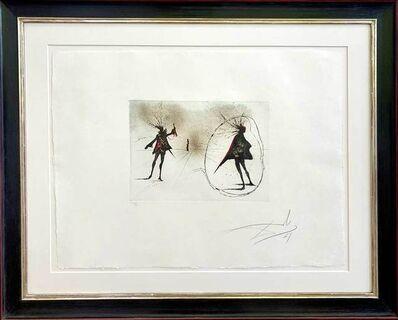 Salvador Dalí, 'Salut à Mephisto', 1969