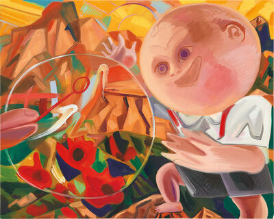 Dana Schutz, 'Boy with Bubble', 2015