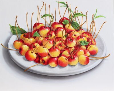 Elizabeth Johansson, 'Plate of Cherries', 2013