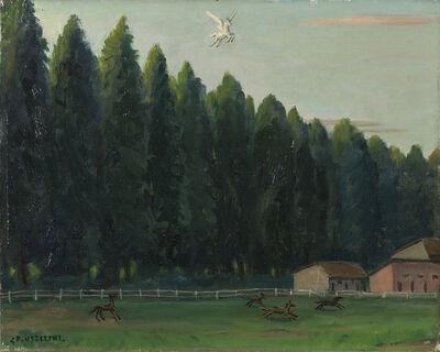 Gianfilippo Usellini, 'Pegaso inammorato', 1956