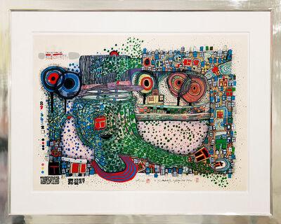 Friedensreich Hundertwasser, 'Regentropfenzähler', 1981