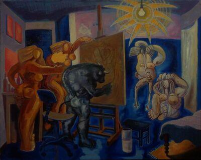 Benjamín Lafuente, 'Taurus's Studio I', 2012