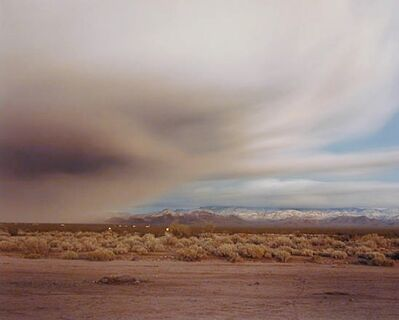 Richard Misrach, 'Clearing Storm Near Kingman', 1985