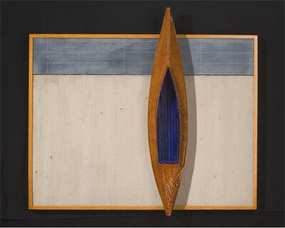 David Ruddell, 'Boat with Blue Interior', 2014