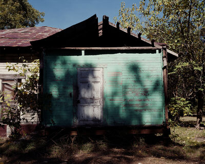 William Christenberry, 'Rear of House After Removal of Kitchen, Near Stewart, Alabama, 1996 (Oct)', 1996