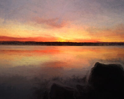 Nancy deFlon, 'Hudson River Sunrise', 2020