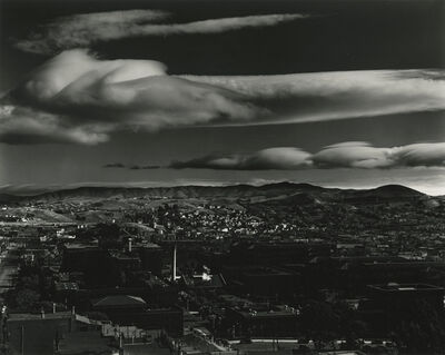 Brett Weston, 'Clouds and Rooftops, San Francisco, California', 1938