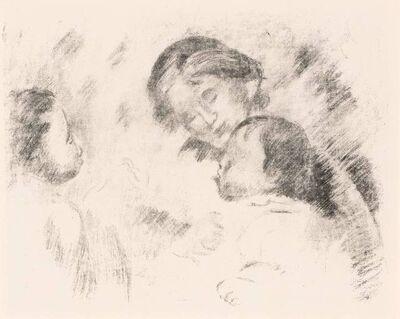 Pierre-Auguste Renoir, 'UNE MÈRE ET DEUX ENFANTS (DELTEIL 54)'