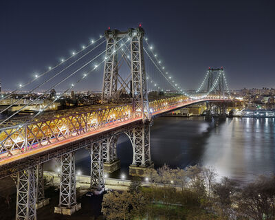 Luca Campigotto, 'Williamsburg Bridge, New York', 2011