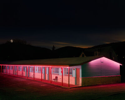 Steve Fitch, 'Motel, Raton, New Mexico', 1980/2012
