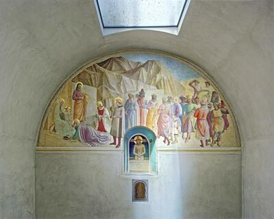 Robert Polidori, 'Adora-on of the Magi and Man of Sorrows by Fra Angelico, Cell 39, Museum of San Marco Convent', 2010