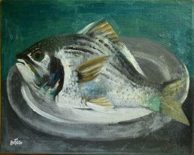 Fernando Botero, 'Fish on Pewter Platter', ca. 1955