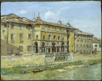 William Merritt Chase, 'Florence', 1907