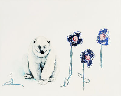 Adam Scott Umbach, 'Blue Flowers', 2020