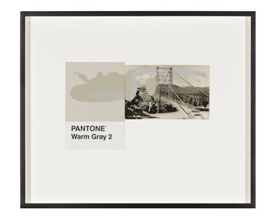 Tacita Dean, 'Pantone Pair (Warm Gray 2)', 2020