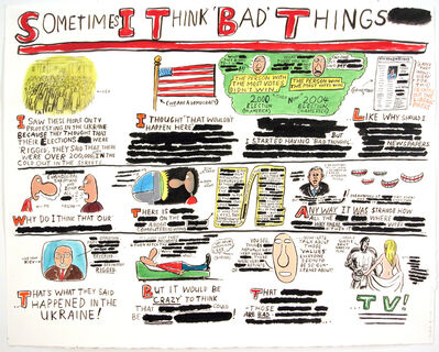 Jim Torok, 'Sometimes I Think 'Bad' Things', 2004