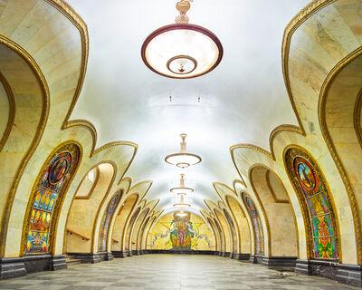 David Burdeny, 'Novoslobodskaya Metro Station, Moscow, Russia', 2015