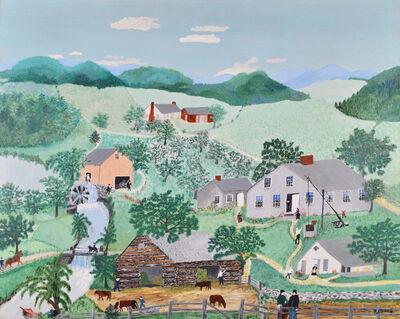 Grandma Moses, 'The Old Oaken Bucket', 1949