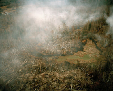 Eamon Mac Mahon, 'Wildfire, Northwest Territories', 2015