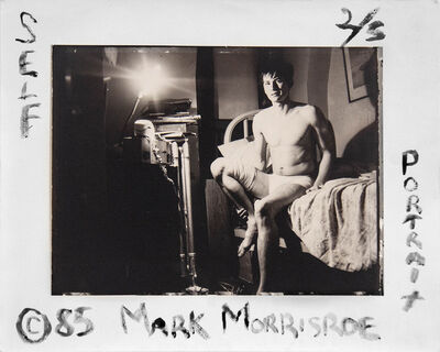 Mark Morrisroe, 'Self Portrait at Home with Diane Arbus', 1985