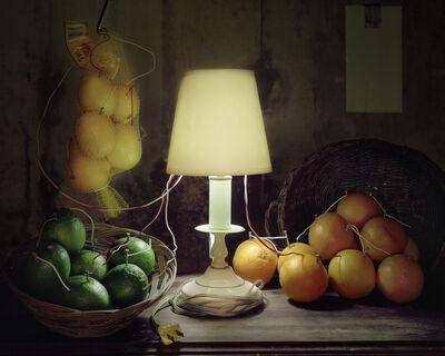 Caleb Charland, 'Fruit Battery Still Life (Citrus)', 2012