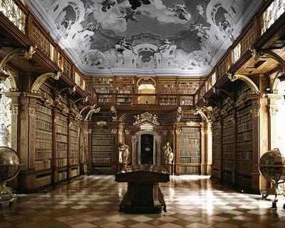 Massimo Listri, 'Melk Library, Austria | World Libraries', 1994