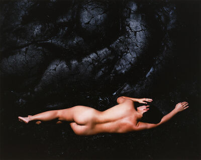 Cole Weston, 'Nude and Lava, Hawaii', 1983