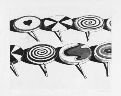 Wayne Thiebaud, 'Big Suckers', 1971