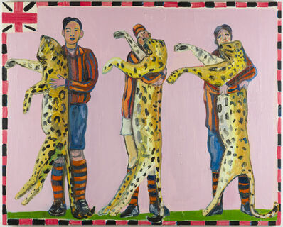 Carla Busuttil, 'Paradise No.3 (Three Leopards)', 2018