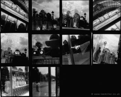 Lee Miller, 'contact sheet , Guerlain shopfront, Paris', 1930