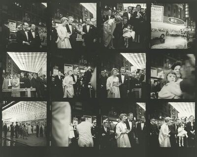 """Vivian Maier, 'VM1960W02526-070MC - Untitled (Contact Sheet) 1960, Kirk Douglas at the premiere of the movie """"Spartacus""""', Printed 2017"""
