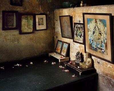 Laura McPhee, 'Puja Room in the Women's Courtyard, Monmotho Ghosh House, North Kolkata 1/5'