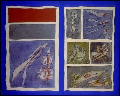 Achille Perilli, 'La caccia al guru', 1961