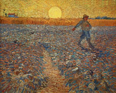 Vincent van Gogh, 'The Sower', 1888
