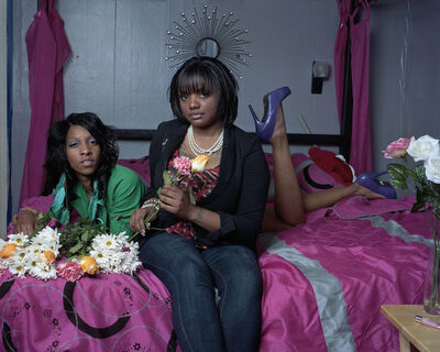 Mark Neville, 'Tiffany and Jessica in Braddock', 2012