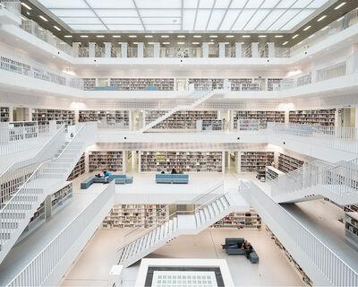 Reinhard Gorner, 'Open Space II - City Library, Stuttgart', 2019