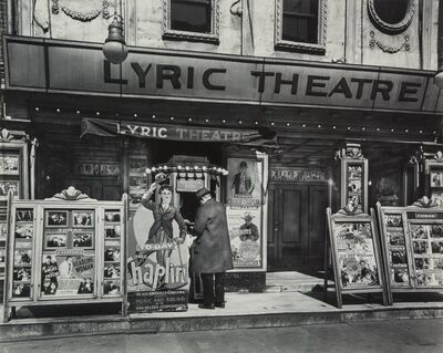 Berenice Abbott, 'Lyric Theatre, 100 Third Avenue, Manhattan'