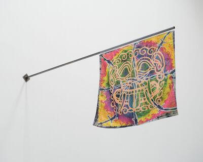 Koi Persyn, 'Janus Flags (1) Medusa & Daphne', 2020