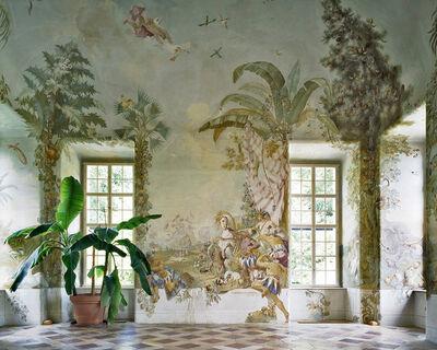 Margherita Spiluttini, 'Gartenpavillon Stift Melk, AT, Fresko von Johann Wenzel Bergl, Nr. 4', 2008