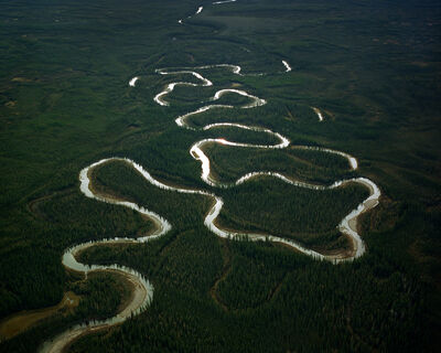 Eamon Mac Mahon, 'Winding River, Northwest Territories', 2005