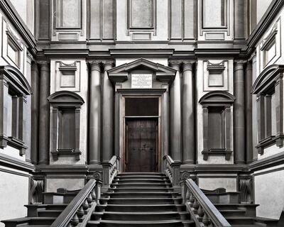Massimo Listri, 'Biblioteca Laurenziana II, Florence, Italy', 2018