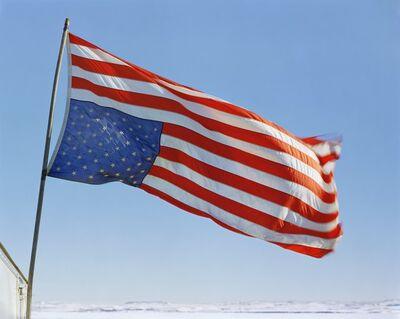 Mitch Epstein, 'Veterans Respond Flag, Sacred Stone Camp, Standing Rock Sioux Reservation, North Dakota 2017', 2017