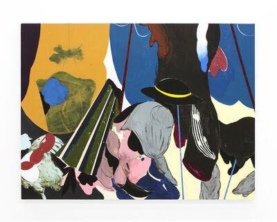 "Kenichi Hoshine, '""The Bone, The Thread, And The Pillow""', 2018"