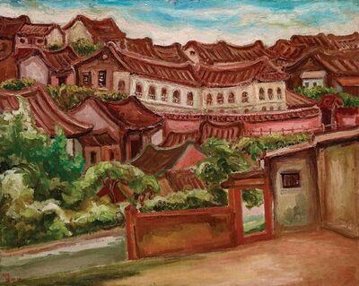 Chen Cheng-Po 陳澄波, 'Tamsui Scenery (2)', 1935