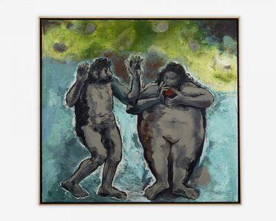 Gilberto Navarro, 'GAN1089 Adán y Eva según Rembrandt 2', 2006